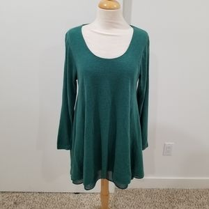 Umgee Long Sleeve Tunic Sweater